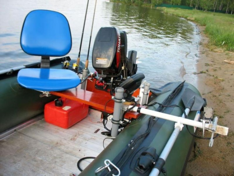 приспособления для рыбалки на лодке