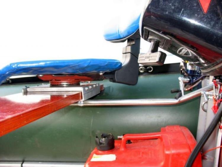 Тюнинг на лодку пвх своими руками