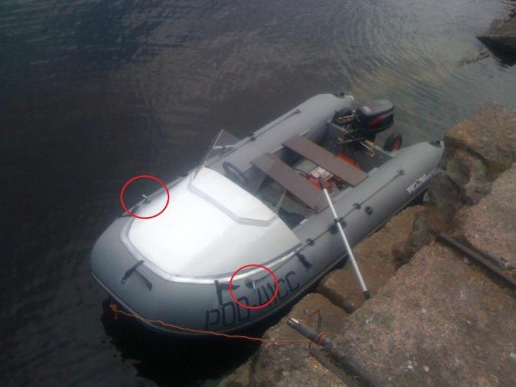 Переделка пвх лодки своими руками 45