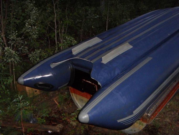 какая лодка пвх под водомет