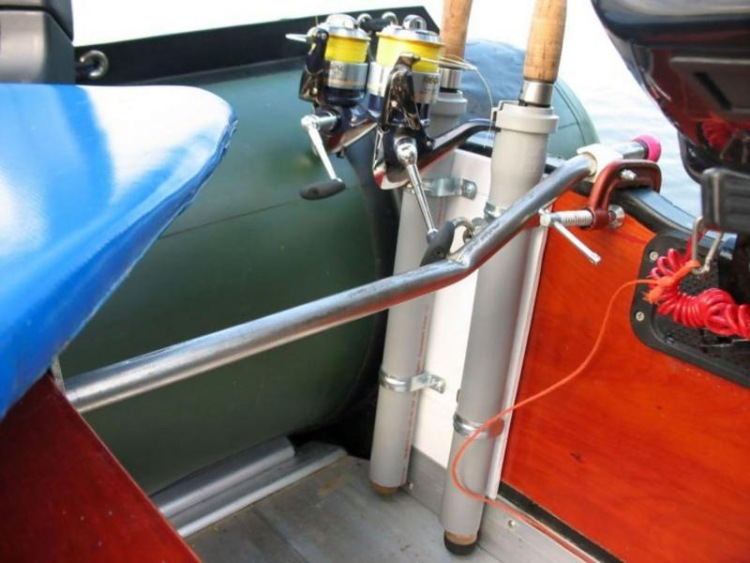 Тюнинг для лодки пвх своими руками фото
