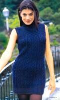 схема вязания спицами шарфа - хомута. вязаные платья спицами схемы.
