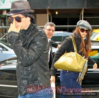 Йен и Нина прибывают в отель Нью-Йорка [1 октября]