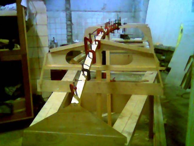 лодка кефаль из фанеры