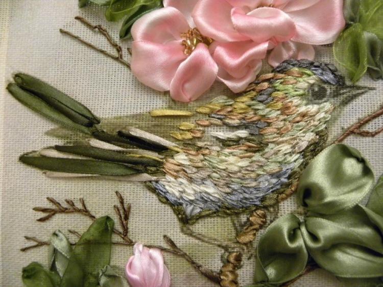 Ирма рамос мк по вышивке лентами 24