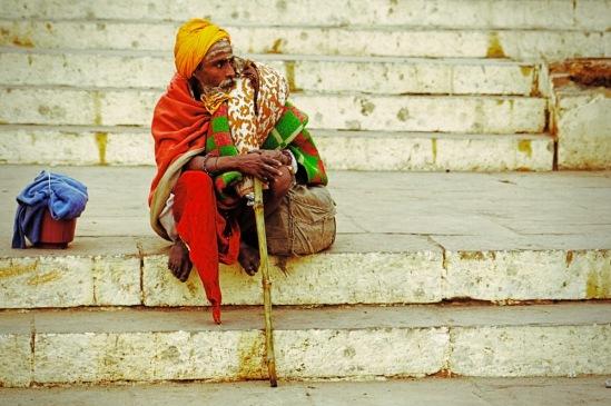 Индия. Набережная Варанаси.