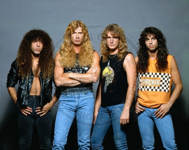 Золотой состав Megadeth