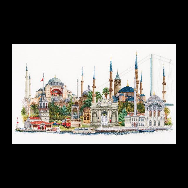 Набор для вышивания Istanbul. стамбул.