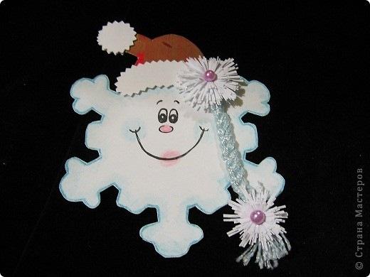 Картинки снежинки своими руками фото