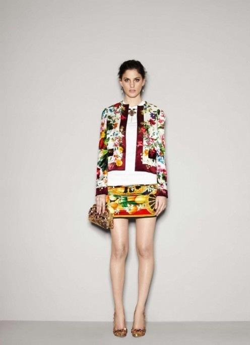 Лукбук Dolce&Gabbana осень-2011