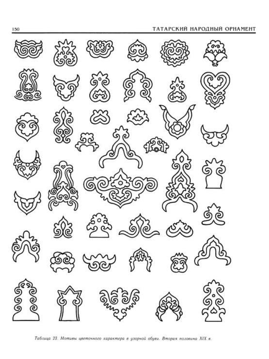 Татарский народный орнамент. . 16 фото . . Орнаменты разных народов. Прочитать целиком. В свой цитатник или