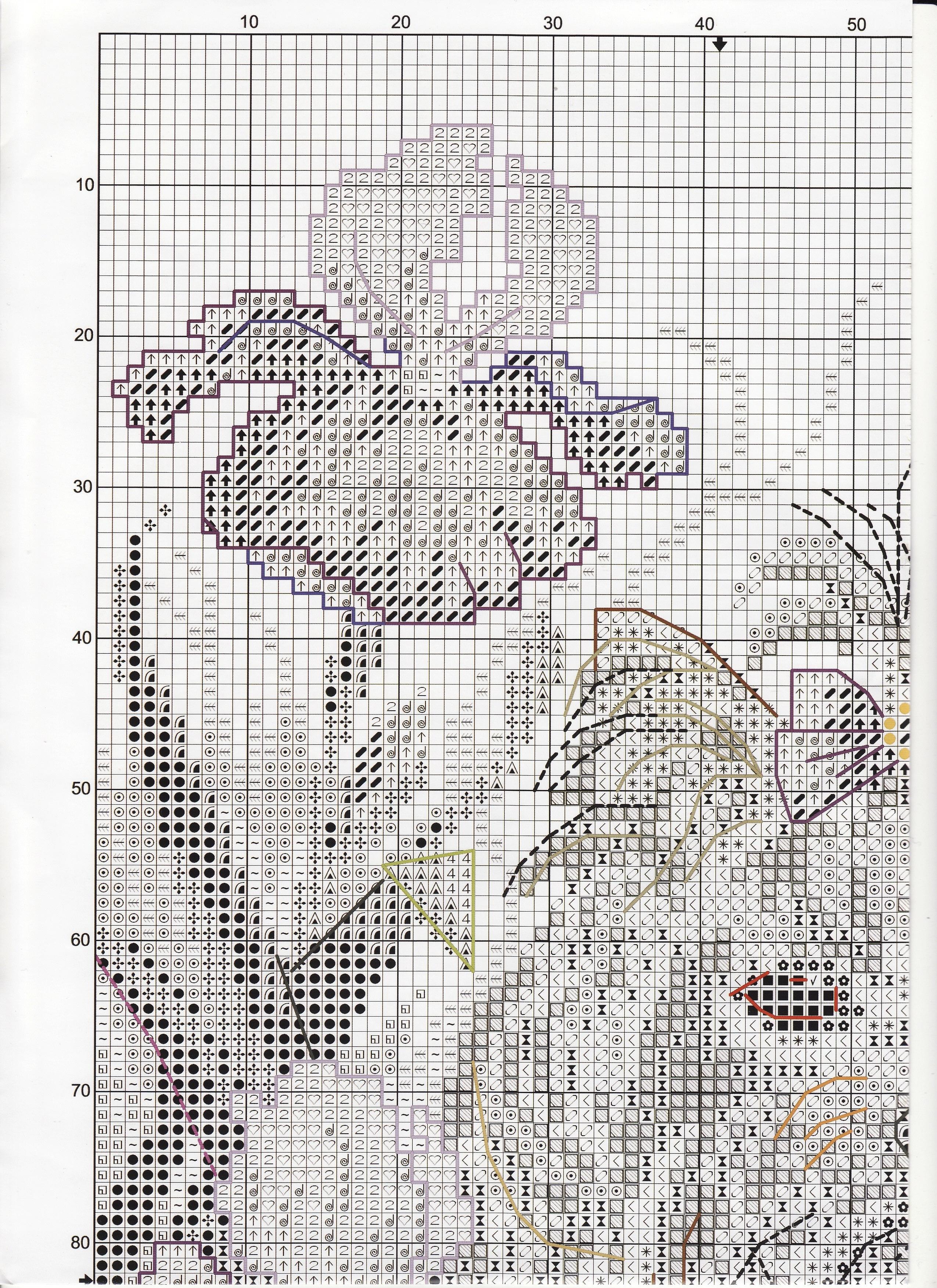 схема для вышивки крестиком рто-р-145