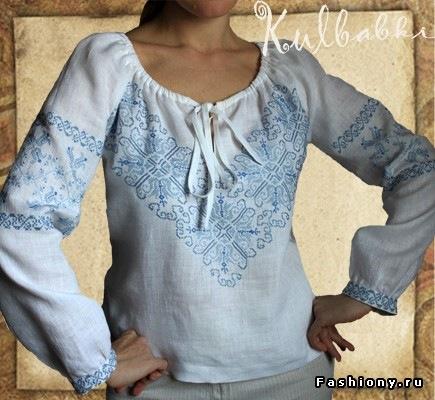 Вишиті жіночі блузки в Воронеже