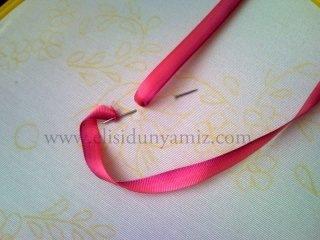 вышивка лентами для начинающих