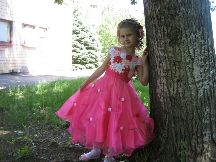 Фото детских платьев на выпускной в садике