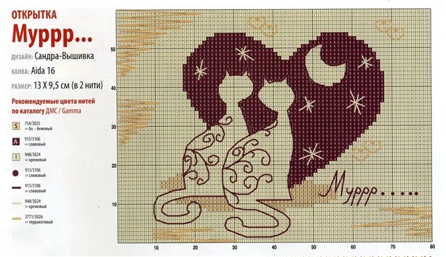 схемы для вышивки бисером производителя КО - Исскуство схемотехники.
