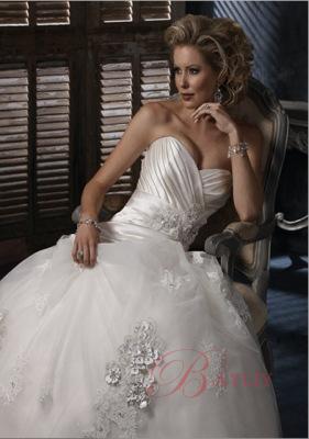 Свадебное платье А-силуэт Isadora.