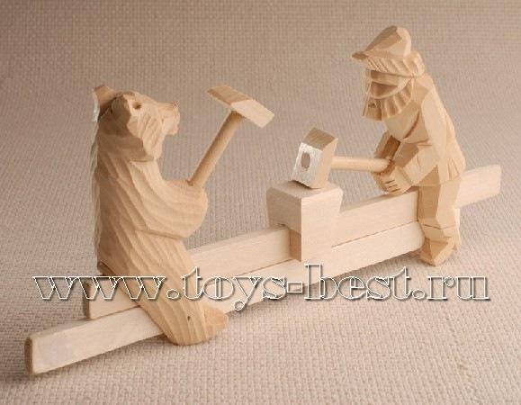 Деревянные игрушки фото