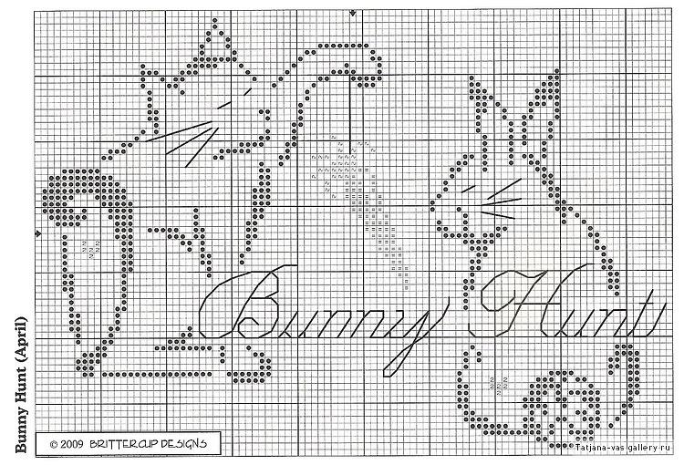 Схемы вышивки крестом монохром коты - символ 2017 красный пе.