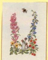 Вышивка Полевые цветы Категория.