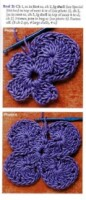 一款多用途的钩针花型 - 钩针姐姐 - 钩花博客钩针图解crochet blog