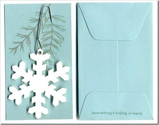 Новогодняя открытка своими руками только картинки