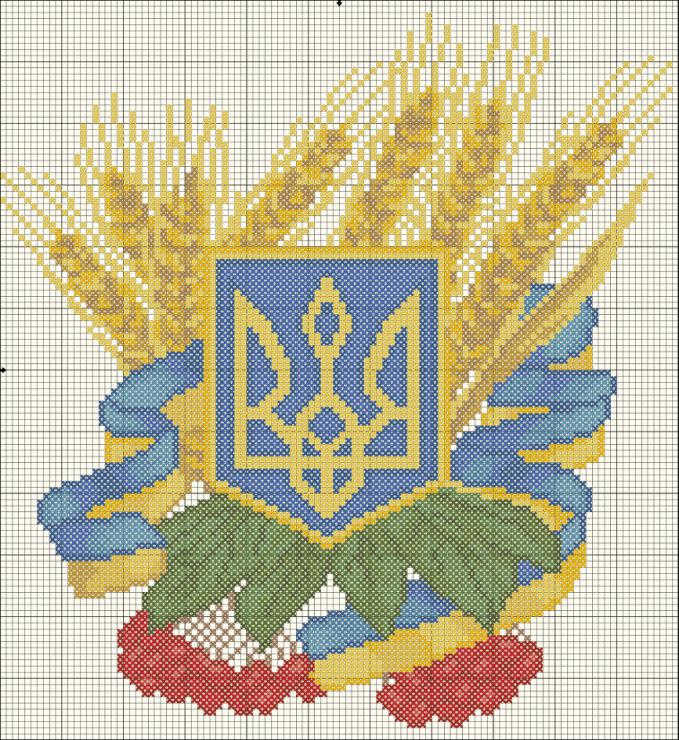 Часть 1 - Украинская вышивка